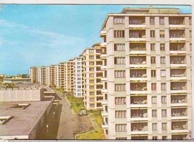 bnk cp Orasul Gheorghe Gheorghiu Dej - Vedere - necirculata - marca fixa foto