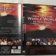 [DVD] He's Got The Whole World in His Hand - The Spirit of Gospel - dvd original