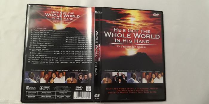 [DVD] He's Got The Whole World in His Hand - The Spirit of Gospel - dvd original