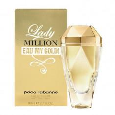 Apa de toaleta Femei, Paco Rabanne Lady Million Eau My Gold, 50ml, 50 ml