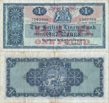1964 (4 V), 1 pound (P-166c.2) - Scoția!