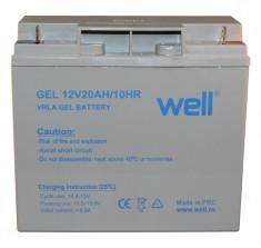 Acumulator plumb acid cu gel 12V 20Ah Well 5948636033878 foto