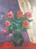 Tablou pictura C. Tofan - Flori anii 80