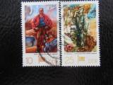 Serie timbre pictura stampilate Germania DDR timbre arta timbre picturi