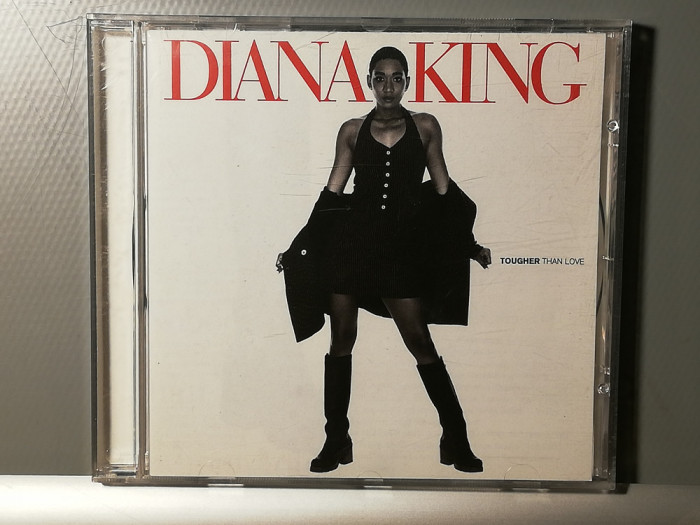 Diana King - Tougher Than Love (1995/Sony/Holland) - CD ORIGINAL/Nou