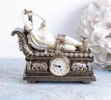 Ceas Art Nouveau cu o femeie IS064