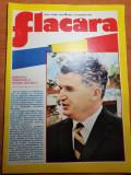 flacara 30 martie 1974-cenaclul flacara,ceausescu ales primul presedinte