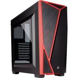 Carcasa Corsair Carbide Series SPEC-04 Windowed Black Red