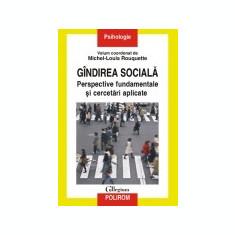 Gindirea sociala