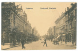 5055 - BUCURESTI, Elisabeth Ave, Romania - old postcard, CENSOR - used - 1917