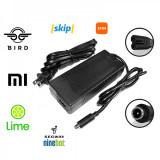Încărcător 42V 2A 8×10.5mm protecție scurtcircuit și indicator LED pentru trotinete electrice Xiaomi Mijia M365/Ninebot ES1/ES2/ES4, Lime, Bird, Spin,