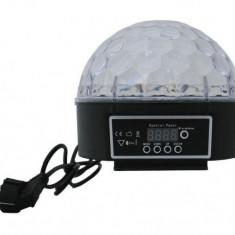 Glob pentru Efecte de Lumini cu LED, Multicolor RGB, Putere 10W
