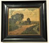 Pictura Tablou B. Moorer  ,,Peisaj''