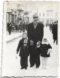 C760 Reclama farmacie Ploiesti centrul vechi 1937 barbat si copii