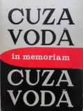 IN MEMORIAM CUZA VODA-COORDONATORI: L. BOICU, GH. PLATON, AL. ZUB