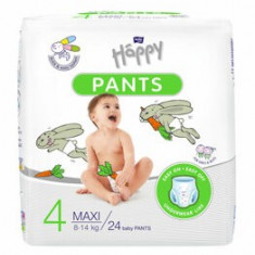 Scutece-chilotel Happy Pants Maxi, 8-14 kg, 24 buc
