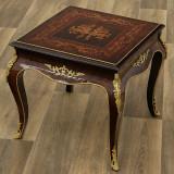 Masa din lemn masiv furniruit pentru cafea CAT-Table58x58cm