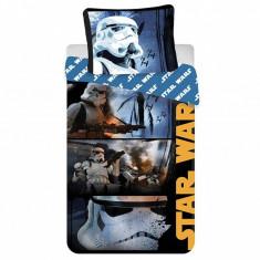 Set de pat Single Ranforce Star Wars Stormtroopers, Bumbac ranforce