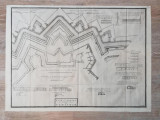 Harta fortificatii Timisoara