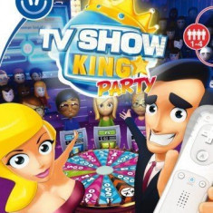 TV Show King PArty - Nintendo Wii [Second hand], Board games, 3+, Multiplayer