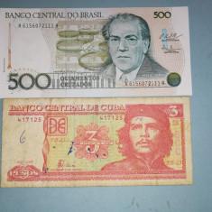 Bancnote din diverse tari si continente94 buc. UNC, una circulata), America Centrala si de Sud