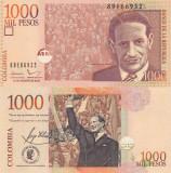 Columbia 1000 Pesos 2015 UNC