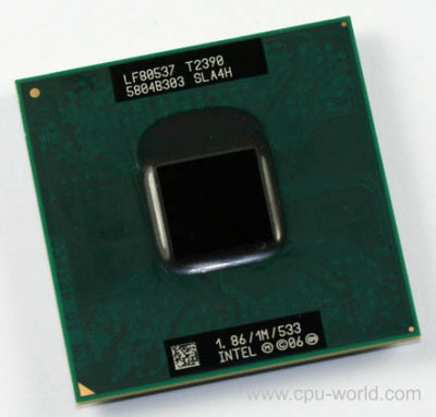 Intel Pentium Processor T2390 (1M Cache, 1.86 GHz, 533 MHz FSB) socket PPGA478 foto