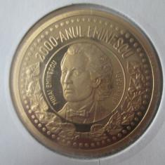 Medalia Mihai Eminescu 150 ani de la nastere 1850-2000/UNC