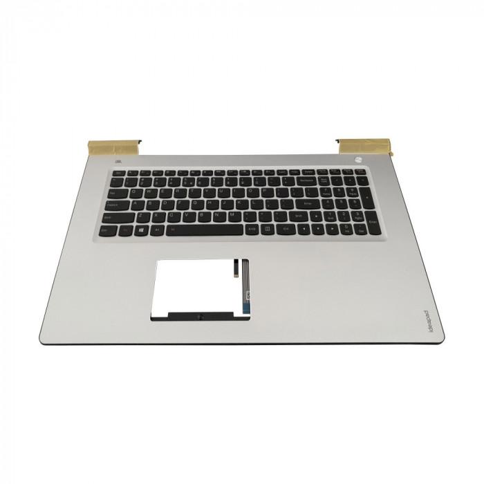 Carcasa superioara palmrest cu tastatura iluminata Laptop Lenovo IdeaPad 700-17isk us