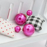Cumpara ieftin Cercei perle diferite culori