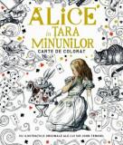 Alice in Tara Minunilor - carte de colorat