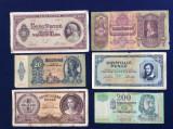 Bancnote Ungaria - Lot bancnote Ungaria - starea care se vede