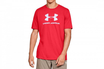 Tricou Under Armour Sportstyle Logo Tee 1329590-600 pentru Barbati foto