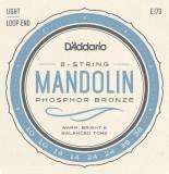 Corzi mandolina D'Addario EJ73 Phosphore Bronze Light