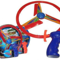 Disc zburator cu lumini si lansator