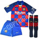Compleu Echipament fotbal pt copii 5-15 ani Barcelona GRIEZMANN model 2019-2020