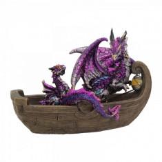 Statueta Calatoria dragonului 13 cm