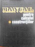 MANUAL PENTRU CALCULUL CONSTRUCTIILOR VOL. 1-ANDREI D. CARACOSTEA SI COLAB