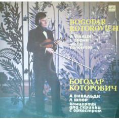 Bogodar Kotorovich. A Vivaldi. L. Spohr - violin concertos (Vinil)