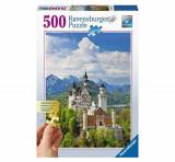 Puzzle Castelul Neuschwanstein, 500 piese, Ravensburger