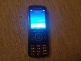 Cumpara ieftin Telefon Slide Sony Ericsson W100i Spiro Black Liber retea Livrare gratuita!, Negru, Neblocat