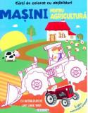 Carti de colorat cu abtibilduri - Masini pentru agricultura