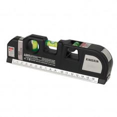 Nivela multifunctionala cu laser Level PR10, ruleta integrata
