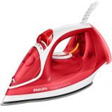 Fier de calcat Philips EasySpeed Advanced GC2672/40, 2300W, Talpa Ceramica, 300 ml, Sistem antipicurare, Rosu