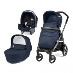 Carucior 3 in 1 Peg Perego Book Plus 51 Black Class Navy