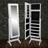 Cumpara ieftin Dulap vertical cu oglindă pentru bijuterii