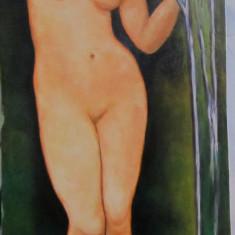 Tablou nud semnat Cimpoesu