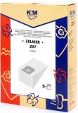 Sac aspirator Zelmer 2000, hartie, 5X saci, KM, K&m