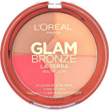 Paleta L Oreal Glam Bronze La Terra Healthy Glow 02 Medium Speranza 6g