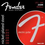 Corzi chitara electrica Fender Super 250M Nickel Plated Steel Ball End 11-49